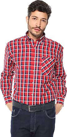 Wrangler Camisa Wrangler Xadrez Vermelha
