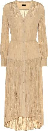 Joseph Falco silk-habotai midi dress