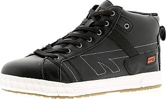 Hi-Tec Presti Mens Leather Material Safety Boots Black - 13 UK