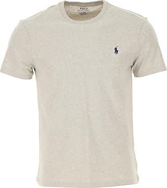 Ralph Lauren T-Shirt Uomo On Sale, Grigio, Cotone, 2019, L M S XL XXL