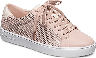 Michael Kors Irving Lace Up Låga Sneakers Rosa Michael Kors Shoes