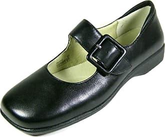 Josef Seibel Black Leather Mary Jane Shoes (3 UK 36 EU)