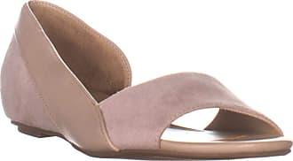 Naturalizer Womens Roma Peep Toe Mary Jane Flats, Marble Fab, Size 9.5 US / 7.5 UK US