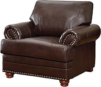 Coaster Fine Furniture Colton Chair with Comfortable Cushions Brown