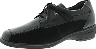 Xsensible Womens Shoes Simone Black Combi 21292001 Black Size: 4.5 UK
