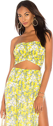 Tiare Hawaii Hollie Bandeau Top in Yellow