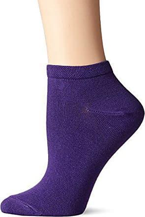 Ozone Womens Pima Cotton Ankle Zone Sock Violet, 9-11