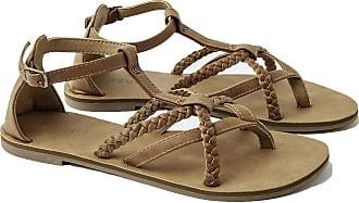 Rip Curl Anouk Women,Strappy Sandals,Ladies,Leatherlook,TAN,4 UK,37 EU