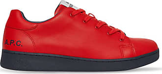 A.P.C. A.p.c. Kid cudi tennis minimal sneakers RED 42