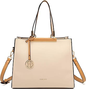 Quirk CLASSIC SIMPLE SHOULDER BAG - BEIGE