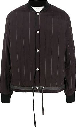 OAMC striped bomber jacket - Brown