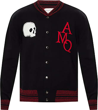 Alexander McQueen Sweatshirt With Logo Mens Black
