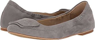 Hush Puppies Womens Livi Heather Ballet Flat, Frost Gray Suede, 6 M US