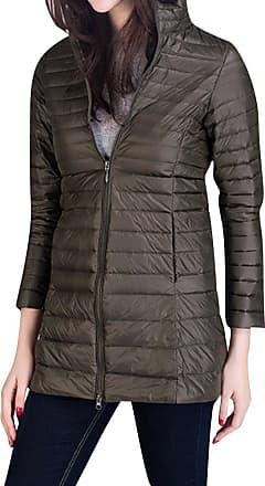 MISSMAO Big Girls Light Hooded Down Jacket Teens Packable Puffer Coats