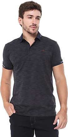 9f1576693d Dudalina Camisa Polo Dudalina Reta Jersey Azul-marinho
