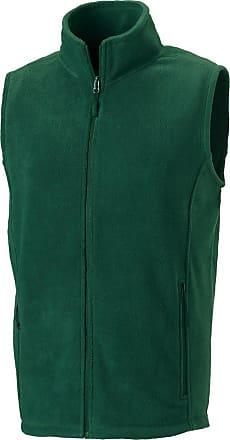 Russell Athletic Russell Outdoor fleece gilet Bottle Green 2XL