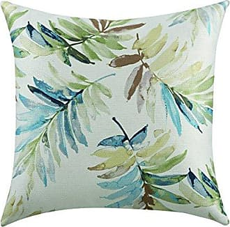 Coaster Fine Furniture 905105 Leaves Print Accent Pillow, Blue/Green