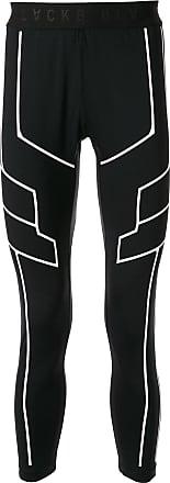 Blackbarrett Legging com recortes e stretch - Preto