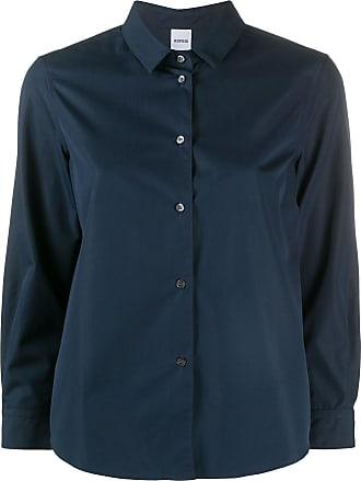 Aspesi Camisa com mangas 3/4 - Azul