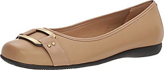 Trotters Womens Sizzle Ballet Flat, Taupe, 11.0 N US