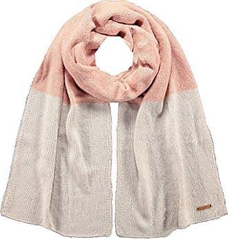 08e8073f38a7 Barts Meuse Scarf, écharpe Femme, Multicolore (Bicolore Rosa e Bianco), UNI
