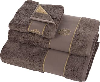 Roberto Cavalli Gold Bath Towel - Coffee - Bath Sheet