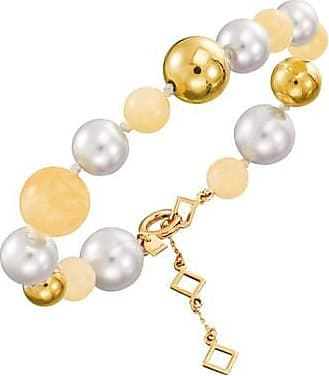Misaki Bracelet de perles Sweet jaune