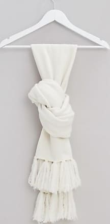 Ores Ores cashmere wool scarf white