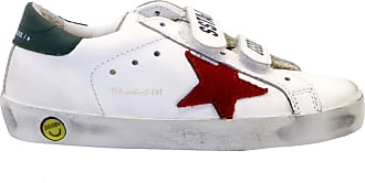 Golden Goose Sneakers Old School White Multicolour Size: 11.5 UK Child