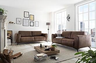 Stylefy Alexandria 2-Sitzer Einzelsofa Hellbraun