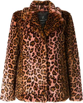 Unreal Fur leopard-print jacket - Brown