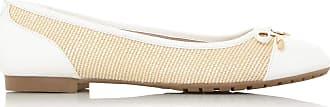Dune London Dune Ladies Womens Hastings XX Ballerina Pump Size UK 5 Natural Flat Heel Ballet Pumps