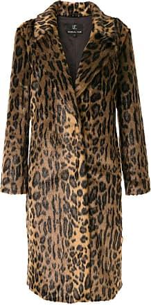Unreal Fur leopard-print coat - Brown