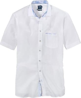 Olymp Casual Hemd, modern fit, Kent, Weiß, XXL