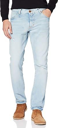 Wrangler Mens Larston Slim Jeans, Blue (Salt 32), W34/L34