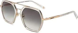 Colcci Óculos Colcci C0139 Transparente e Dourado Lente G15 Degradê