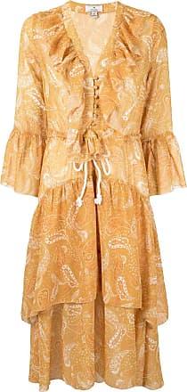 We Are Kindred Amalfi paisley-print dress - Yellow