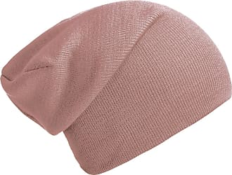 DonDon winter hat slouch beanie warm classical design modern and soft dusty pink