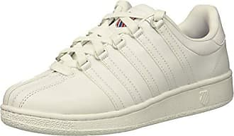 K-Swiss Womens VN Heritage Sneaker, White/Classic Blue/Ribbon red, 11 M US