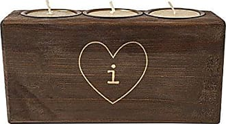 Cathy's Concepts Personalized Rustic Heart Sugar Mold Unity Candle, Letter I