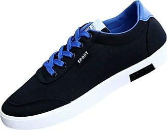 Daytwork Classic Flats Lace Up Canvas Shoes Men - Mens Plimsolls Plimsoles Ankle Shoes Espadrilles Trainers Casual Sneakers Boat Skateboard Skater Shoe Fashion