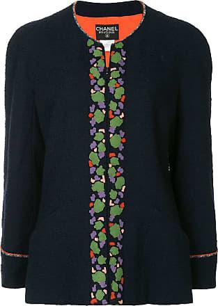 Chanel bouclé jacket - Blue