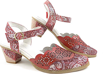 380ce5d4594f Laura Vita donjon 04 Mid Heel Slingback Sandal EU 40 UK 7 Red