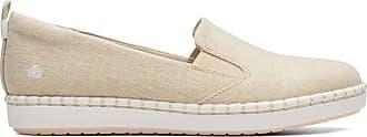 Clarks Womens Shoe Soft Gold Clarks Step Glow Slip Size 9