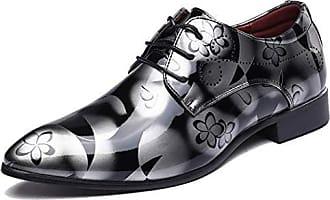 Herren Schuhe Schnürschuhe Business Formell Office Lackleder Hochzeit Gr.38-48