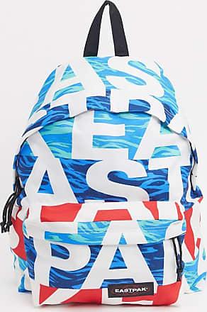 Eastpak Pakr - Gepolsterter Backpack mit großem Logo, mehrfarbig