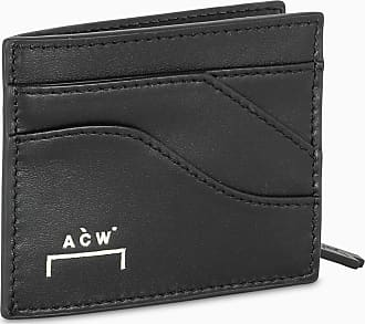 A-Cold-Wall* Portacarte nero con zip