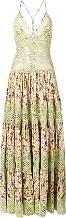 Charo Ruiz Ibiza embroidered details flower dress - Green