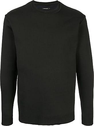 Loveless Suéter decote careca - Preto