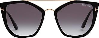 Tom Ford Eyewear Óculos de Sol Gatinho Preto - Mulher - 58 US